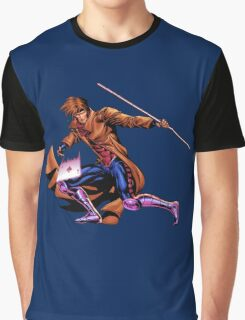 Gambit Xmen Graphic T-Shirt