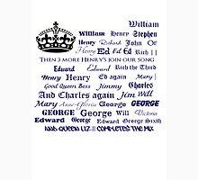 English Kings & Queens Unisex T-Shirt