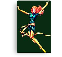 Pixelated Jean Grey (Phoenix) Canvas Print