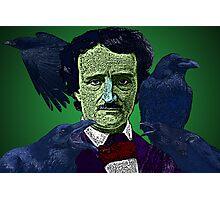Edgar Allan Poe portrait Culture Cloth Zinc Collection Photographic Print