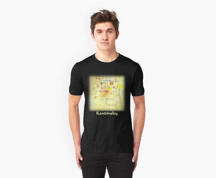 Kandinsky - Gentle Ascent by William Martin