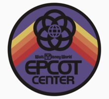 Epcot Center Purple Coin Icon by AngrySaint