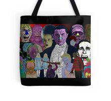 Horror Movie Collage by Culture Cloth Zinc Collection Tote Bag