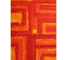 Navajo Rug original painting Photographic Print