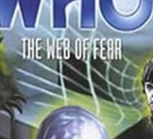 Dr Who - Web of Fear Sticker