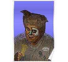 John Candy Space Balls Barf by Culture Cloth Zinc Collection Poster