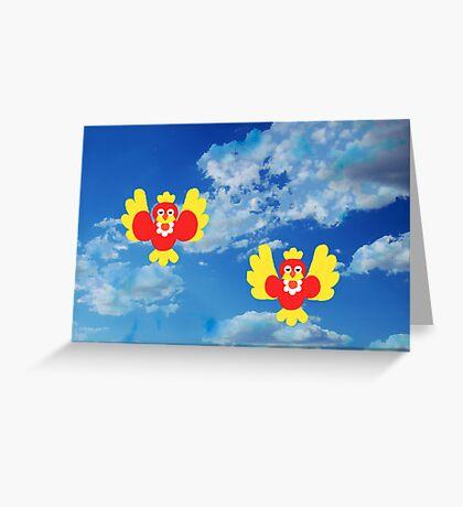 SWEET BIRDS Greeting Card