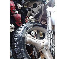 Dia de Los Muertos; Brian's Grave Rider Photographic Print