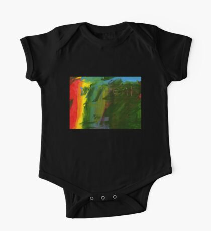I Don't Know - an Abstract One Piece - Short Sleeve