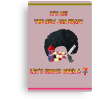 The New Jan Brady Canvas Print