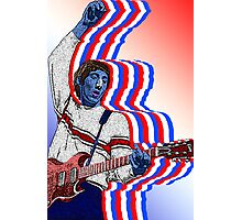 Pete Townsend The Who by Culture Cloth Zinc Collection Photographic Print