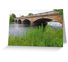 Hyde Park Bridge Greeting Card