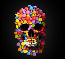Candy Skull by Kitty Bitty
