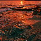 Golden Sunset by Baki Karacay