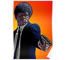 Pulp Fiction Samuel L. Jackson by Culture Cloth Zinc Collection Poster