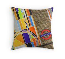 Gloucester Road Throw Pillow