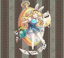 Fionna In Wonderland by goldenapple
