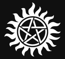 Supernatural Tattoo (white) by funkybreak