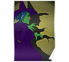 Wicked Witch of the West Wizard of Oz by Culture Cloth Zinc Collection Poster