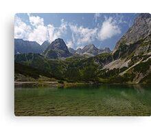 Sebensee - Austria Canvas Print