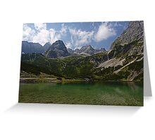 Sebensee - Austria Greeting Card