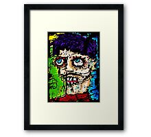Self -Portrait as All That Is Wrong In The World Framed Print