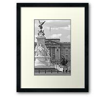 Buckingham (BW) Framed Print