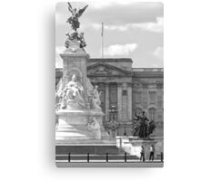 Buckingham (BW) Canvas Print