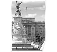 Buckingham (BW) Poster