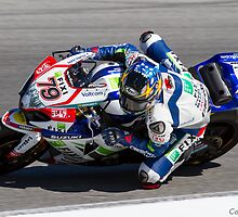 Blake Young at Laguna Seca 2013 by corsefoto