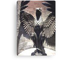 Dumbledore's Office - Griffin Statue - Harry Potter Studio Tour Canvas Print