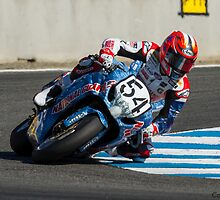 Roger Lee Hayden at Laguna Seca 2013 by corsefoto