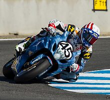 Danny Eslick at Laguna Seca 2013 by corsefoto