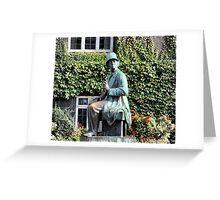 Hans Christian Andersen Greeting Card