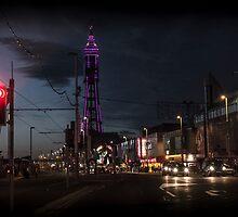 Tower at Night by danposmaytee