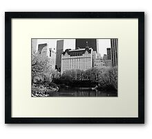 The Plaza Hotel, New York  Framed Print