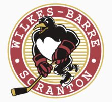 Wilkes Barre Scranton Penguins hockey logos T-Shirts ,Stickers by boomer321sasha