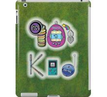 90's Kid in Grunge Green iPad Case/Skin