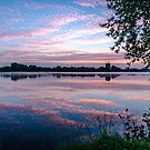 Bray Lake Pink Sunrise by LucyOlver
