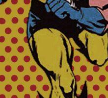 Wolverine Comic Dots Sticker