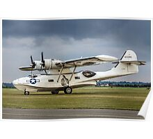 Canadian Vickers Canso A 11005 G-PBYA Poster