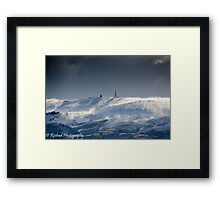 Crazy Winds  Framed Print