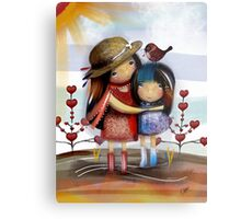Love and Friendship Metal Print
