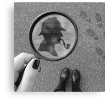 Literature Photography - Mystery Canvas Print