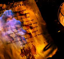 Firestarter (a page from the book of shadows) V2 by Darren Bailey LRPS