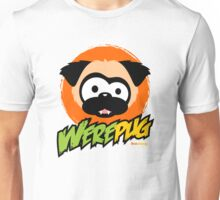 Tugg the WerePug - White (and Light) Apparel and Stickers T-Shirt