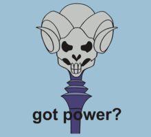 Got Power - Havoc Staff - Black Font - Color  Kids Tee
