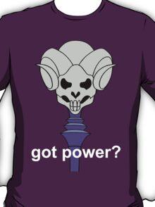 Got Power - Havoc Staff - White Font - Color  T-Shirt