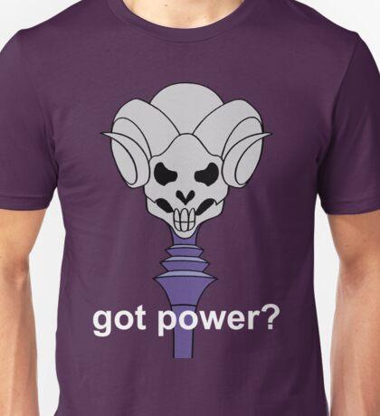 Got Power - Havoc Staff - White Font - Color  Unisex T-Shirt