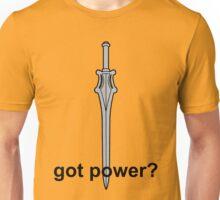 Got Power - He-Man Sword - Black Font  Unisex T-Shirt